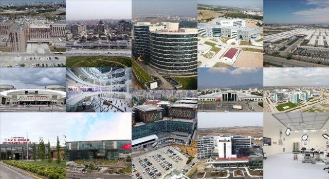 Türkiye'nin Kovid-19'la mücadelesine 2020'de açılan 17 dev hastane büyük katkı sağladı