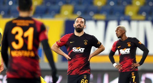 Galatasaray'ın galibiyet serisi başkentte bitti