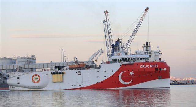 Oruç Reis Araştırma Gemisi için takip gemisi hizmeti alınacak