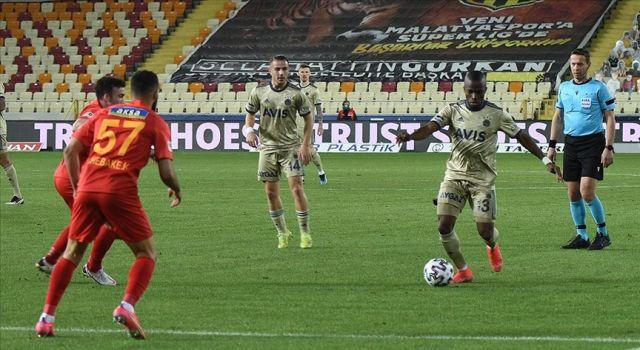 Fenerbahçe Malatya'dan 1 puanla dönüyor