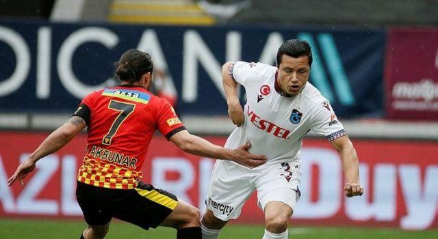 Trabzonspor İzmir'den 1 puanla dönüyor