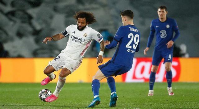 UEFA Şampiyonlar Ligi yarı final ilk maçında Real Madrid ile Chelsea 1-1 berabere kaldı