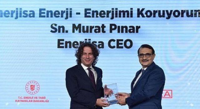 """""""Enerjimi Koruyorum"""" Projesine Sosyal Fayda Ödülü"""