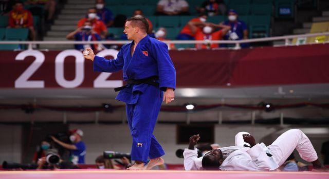 Judoda Türkiye'yi temsil eden Mihael Zgank, çeyrek finale yükseldi
