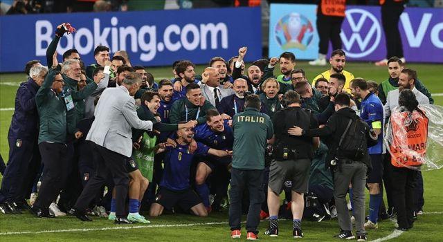 2020 Avrupa Futbol Şampiyonası'nda ilk finalist İtalya
