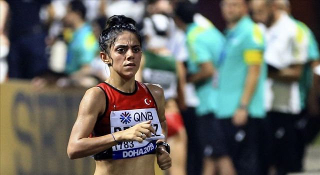 Meryem Bekmez, Avrupa 23 Yaş Altı Atletizm Şampiyonası'nda altın madalya kazandı