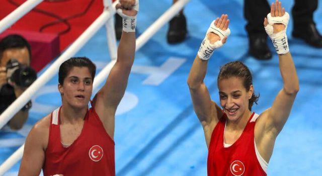 Buse Naz Çakıroğlu ve Busenaz Sürmeneli Tokyo'da finale yükseldi