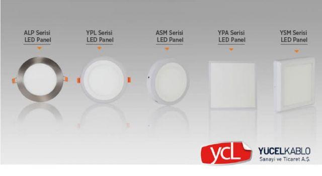 Ycl Aydınlatma LED Panel Serileri İle Mekanlarınıza Işık Katın