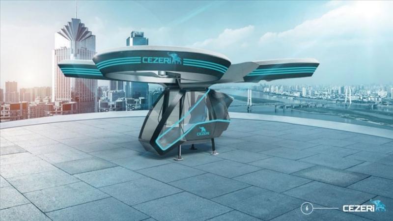 Yerli uçan otomobil Cezeri Teknofest'te sergilenecek