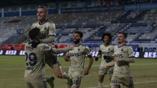 Fenerbahçe galibiyet serisini sürdürdü