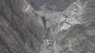 Yusufeli Barajı gövde inşaatında çalışmaların şubat sonu itibarıyla tamamlanması planlanıyor