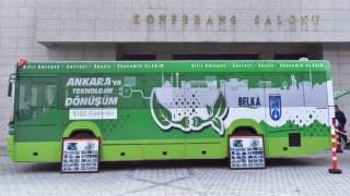 İlk Dönüştürülmüş Yüzde 100 Elektrikli Otobüs Ankara'dan
