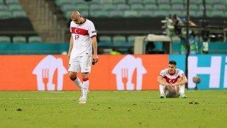 A Milli Futbol Takımı EURO 2020'ye veda etti
