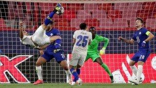 UEFA Şampiyonlar Ligi'nde sezonun en iyi golü Porto'dan Mehdi Taremi'nin röveşatası seçildi