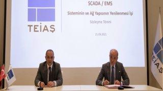 TEİAŞ ile Siemens Arasında Sözleşme İmzalandı