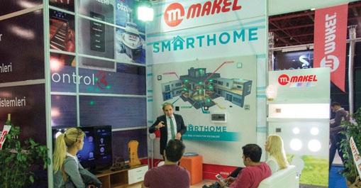 Makel Smarthome Partneri Antalya Yapex Yapı Fuarı'na Katıldı